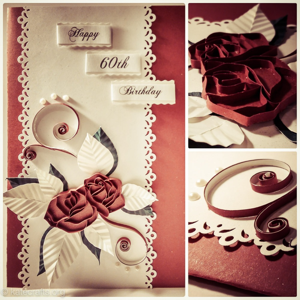 Roses Card Collage